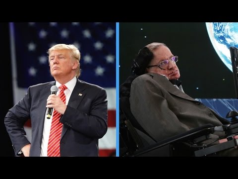 Stephen Hawking On Donald Trump: 'He's A Demagogue'