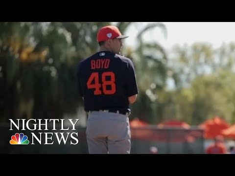 Inside One Baseball Player's Mission To Help Young Girls In Africa | NBC Nightly News
