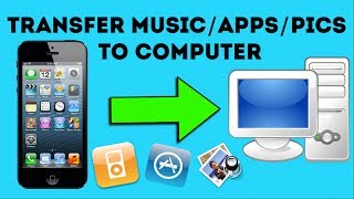 Video How to Transfer Music from iPod, iPhone, iPad to Computer download MP3, 3GP, MP4, WEBM, AVI, FLV November 2018