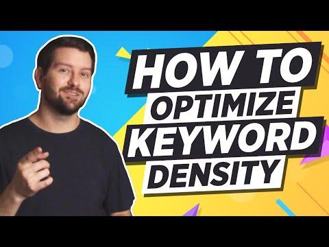 Keyword Density SEO - Properly Optimize Your Website Content