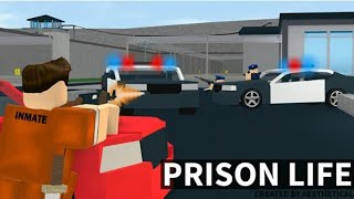 Roblox: prison life with my cussin!