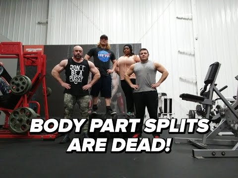 Body Part Splits Are Dead! Or Are They?