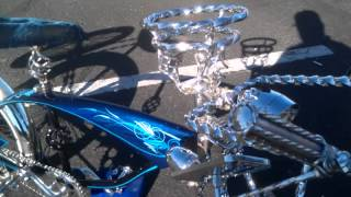 My custom lowrider bike with new style rims
