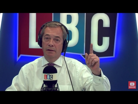 The Nigel Farage Show: Education Day. Live LBC - 10th May 2017