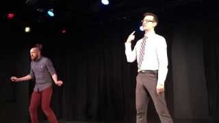 Lead Actor Oscar Rap Battle: Guy Raps As Michael Keaton, Eddie Redmayne, And Steve Carell.