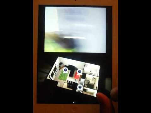 OpenRemote on RPi - X10, Foscam & Sweet Home 3D - YouTube