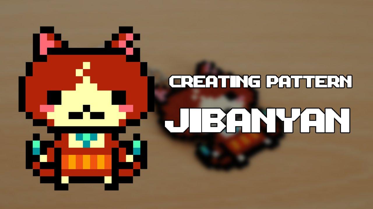 Creating Patterns Jibanyan Yo Kai Watch Pattern For