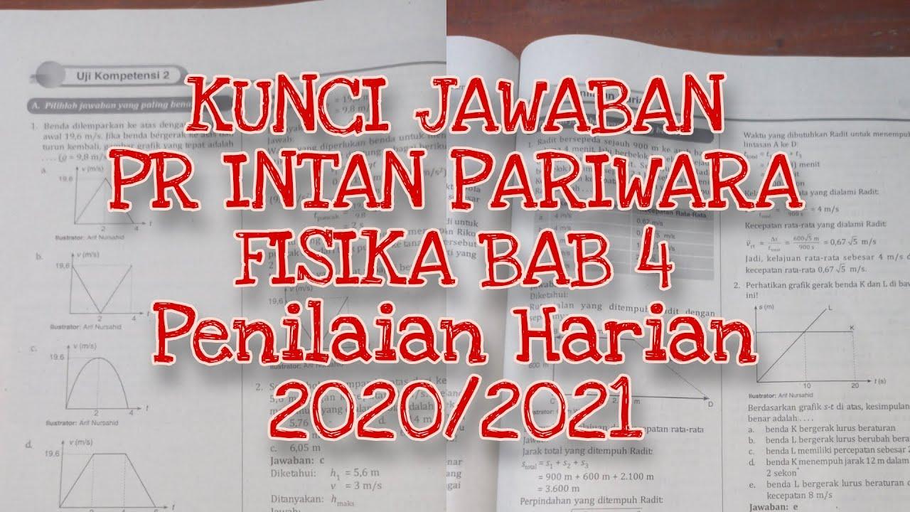 Kunci Jawaban Pr Intan Pariwara Fisika Bab 4 Penilaian Harian Kelas 10 2020 2021 Youtube