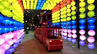 LORONG LAMPU 🌈 PELANGI BAGUS BANGET Upin Ipin Naik Bus Tayo The Little Bus Tayo Odong-Odong Gofun