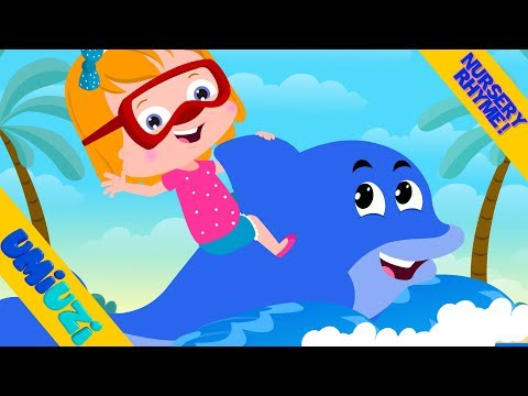 Umi Uzi | we are the dolphins |  nursery rhyme | children's songs