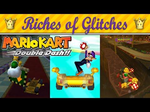Riches Of Glitches In Mario Kart: Double Dash!! (Glitch Compilation)