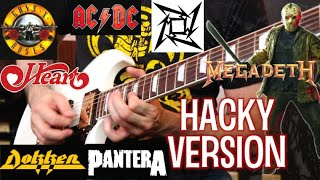 "What IF These Bands Had ""Hack-y"" Lead Guitarists?"