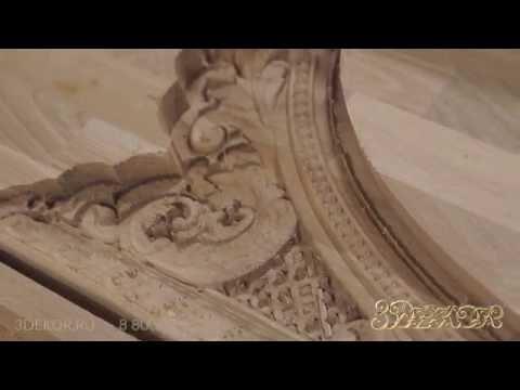 Овальная рама для зеркала в классическом стиле - изготовление