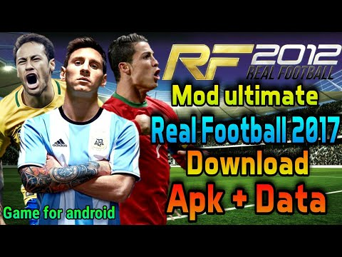 Cara Instal Real Football 2017 Mod Rf 2012 Feat Bung Jebret Gokil | Tutorial Game Android Indonesia
