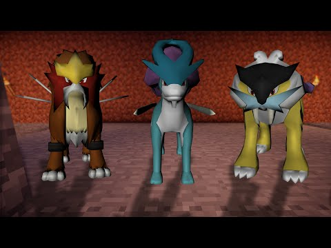 Minecraft: Pixelmon Johto 2.0 Map Trailer - Pokemon Gold and Silver
