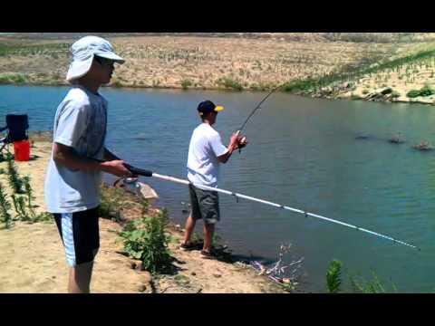 Hensley lake youtube for Millerton lake fishing