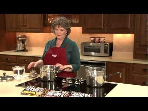 Melting Chocolate (Stovetop) From  HERSHEY'S Kitchens