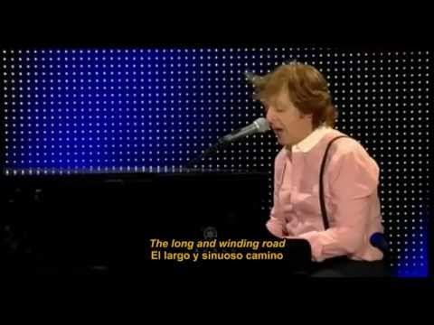 Paul McCartney - The Long and Winding Road - Zocalo CdMex - (subtitulos ing-esp)