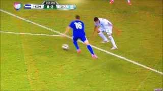 Segundo gol de Marco Pappa - Guatemala vs Honduras UNCAF 2014