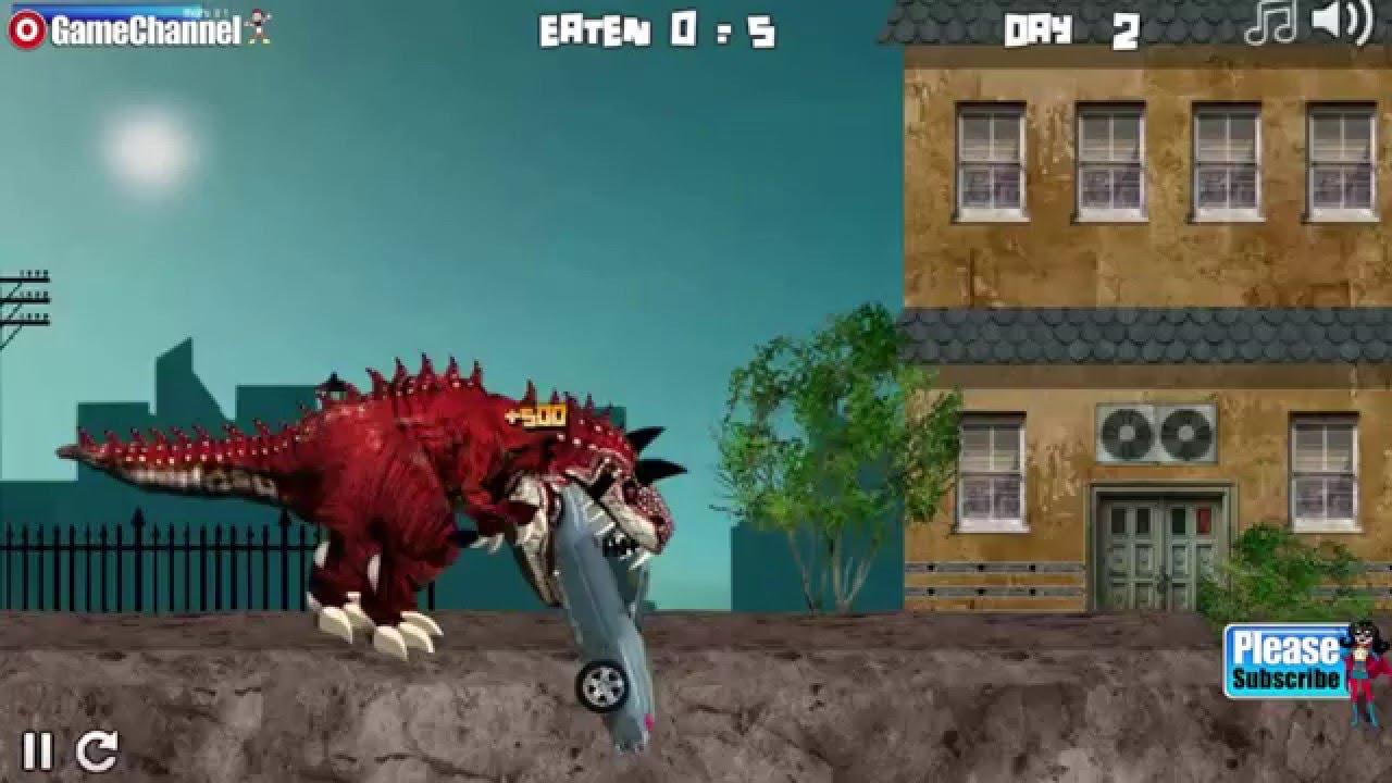 PARIS TREX Dinasour Y8 Flash Online Free Games GAMEPLAY VİDEO - YouTube