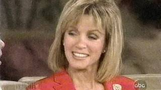 "Donna Mills on ""The View"" in 2001"