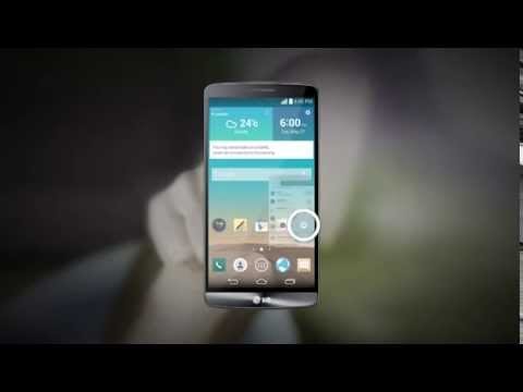 LG G3 Knock Code System QHD Graphics Display