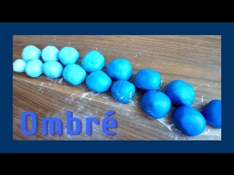 Ombre Fondant - Farbverlauf Fondant gleichmäßig einfärben - von ...