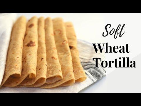 Whole Wheat Tortilla Recipe/Soft Wheat Tortilla/Wheat Flour Tortilla