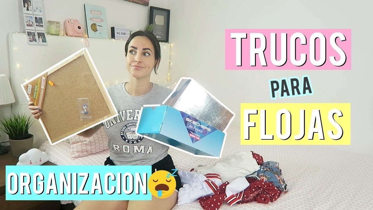 Download CÓMO ORDENAR TU CUARTO SI ERES FLOJA 😱 tips y trucos 👍 Laura Mendez