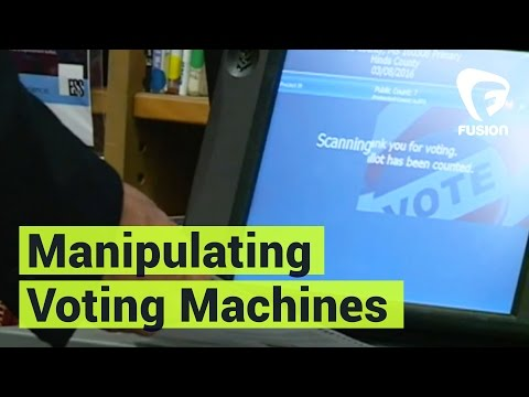 A Hacker Shows Us How Easy it is To Manipulate Voting Machines