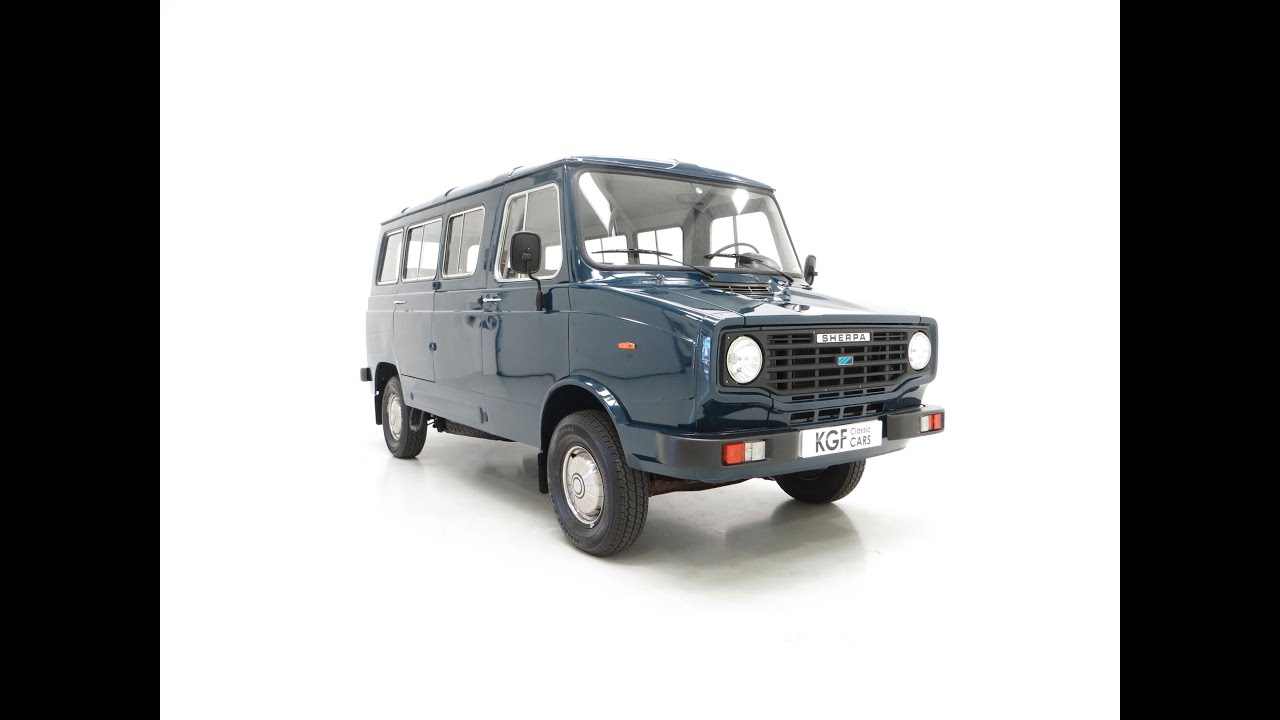 A Delivery Mileage Morris Leyland Sherpa 250 Minibus with 87 Miles from New! - £15,995