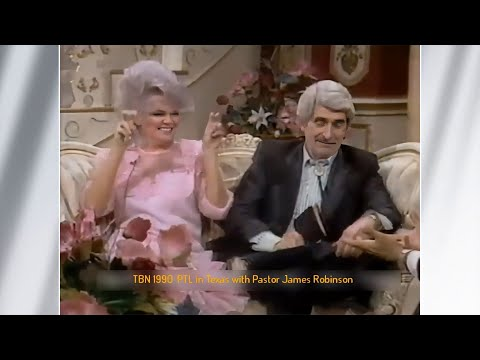 JAN CROUCH 💖  |  Jan & Paul Crouch with James Robison and Betty Freeman