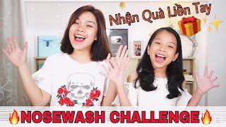 #NoseWashChallenge- THỬ THÁCH NOSEWASH CÙNG SONG THƯ CHANNEL