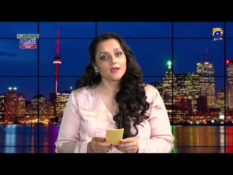 GEO Toronto Community Debate Pakistani Community in Canadian Politics