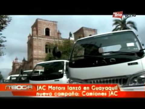 AC Motors lanzó en Guayaquil nueva campaña Camiones JAC