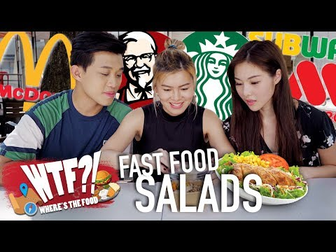 7 Salads from Fast Food Restaurants