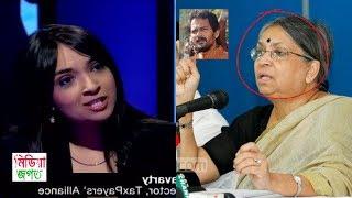 সুলতানা কামাল নাস্তিক দাবী করে তার নিজের মেয়ে যে অপমান করলো !! sultana kamal and dia chakraborti