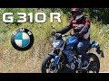 BMW G 310 R 2017: Prueba a fondo [Full HD]