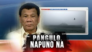 24 Oras: Philippines to drive away foreign ships intruding its territory