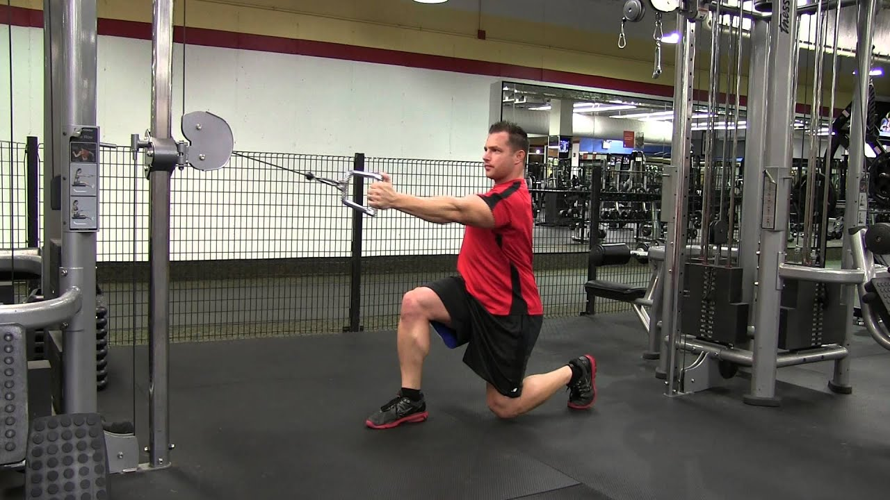 chair exercises on cable tv lift chairs minneapolis isometric back lunge to single arm bottom row youtube