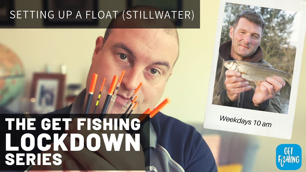 how to set up a loaded waggler float