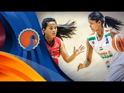 India v Nepal - FIBA U16 Women's Asian Championship 2017 - DIV B