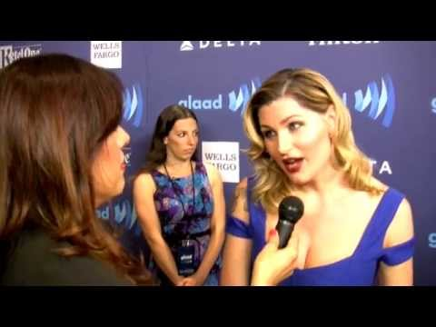 Actress Trace Lysette  GLAAD Awards, NYC
