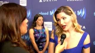 Actress Trace Lysette interview GLAAD Awards, NYC