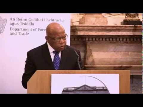 Iveagh House Commemorative lecture by Congressman John Lewis.