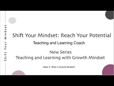 What is Growth Mindset?