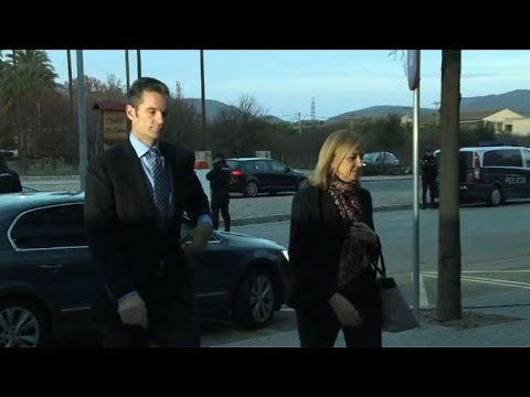 Spanish Princess Cristina and husband on trial for corruption