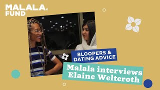 Bloopers, dating advice and Malala's attempt at being Oprah