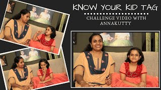 Do you Know your Kid | Challenge Video |  First Tag video | Malayali Youtuber | Deepa John