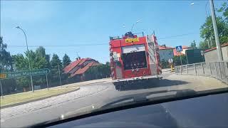 Pożar lasu pod Nowym Miastem nad Pilicą! Na pomoc szybko ruszyli strażacy z Gminy Mogielnica